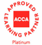 ACCA Approved Emplyer - Platinum Level